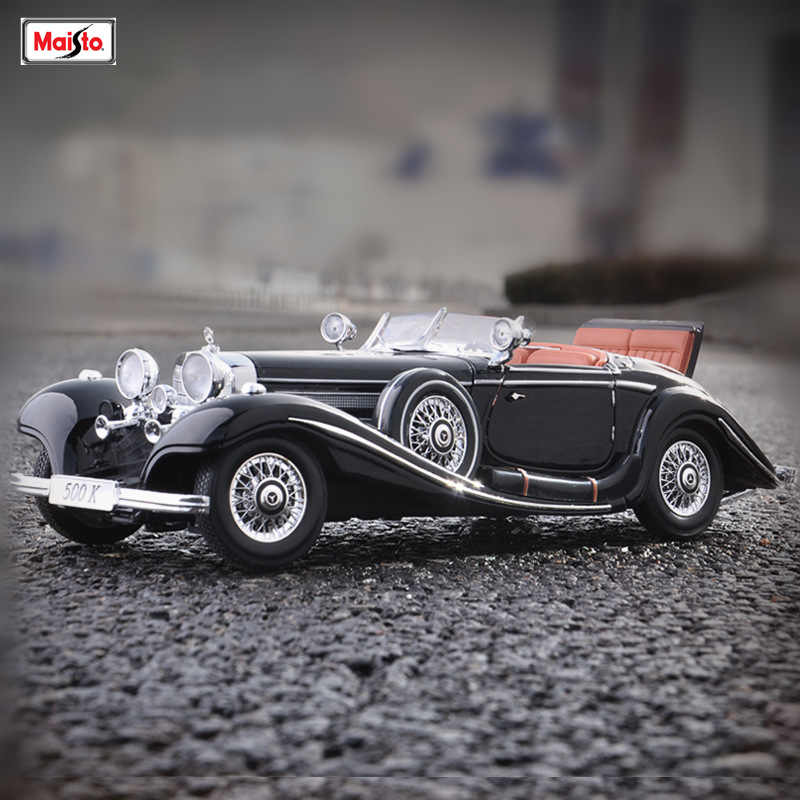 Xe Mô Hình 1936 Mercedes-Benz 500K Typ Special Roadster 1
